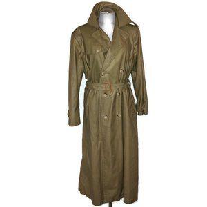 Ralph Lauren GORGEOUS khaki vintage trench coat 4